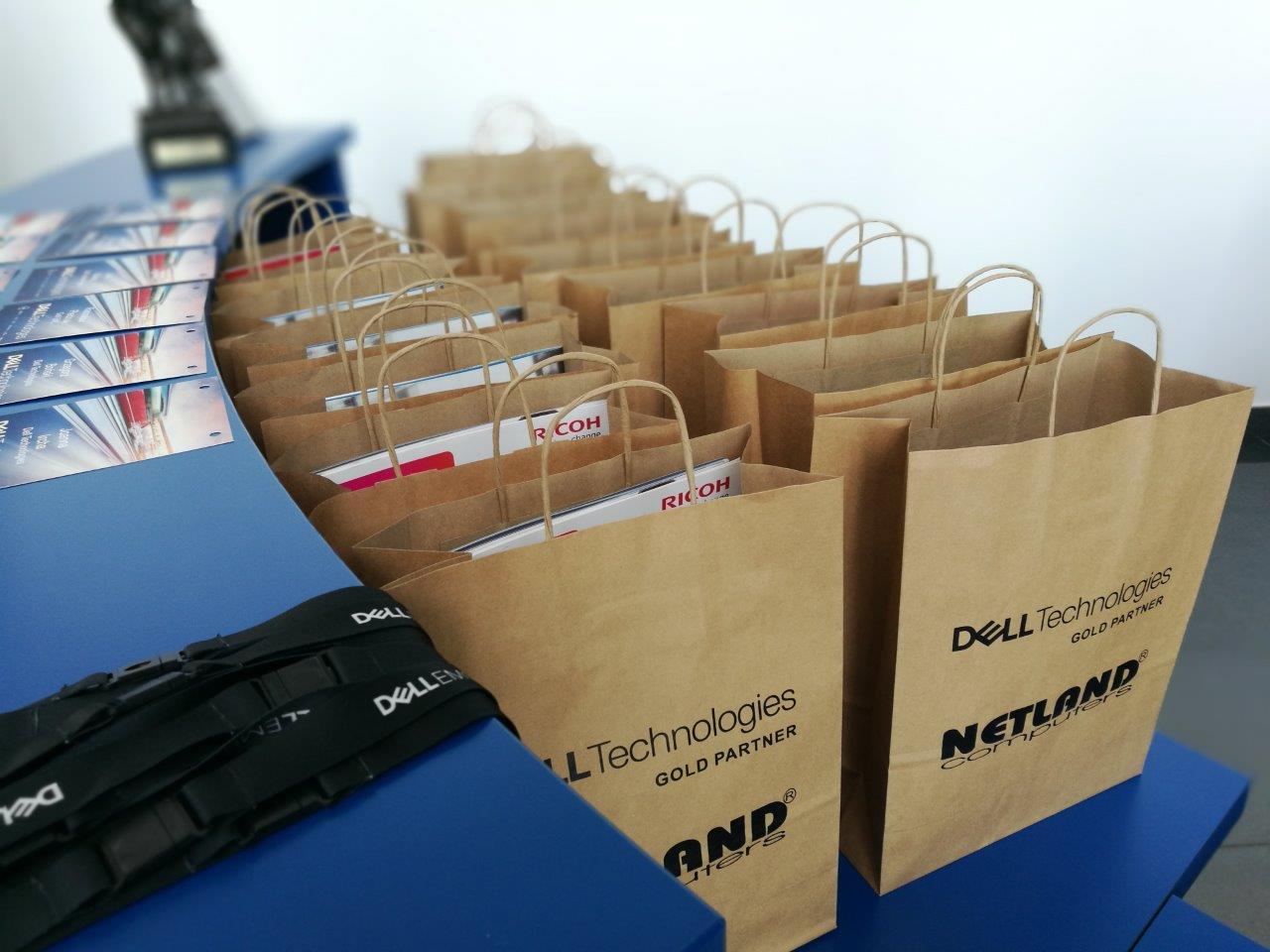 konferencja Dell i Netland w fabryce Dell w Łodzi
